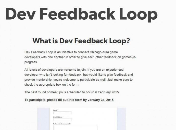dev feedback loop