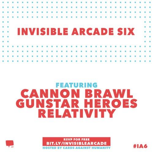 invisible arcade