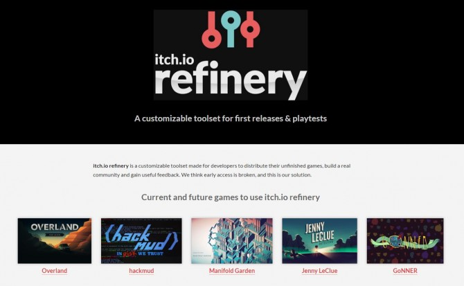 itchio refinery